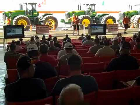 (4) 2011 JD 9630 Tractors Sell on Ritchie Bros. Auction 8/2/12