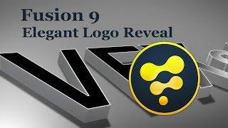 Fusion 9 - 3D Elegant Logo Reveal Tutorial + Template