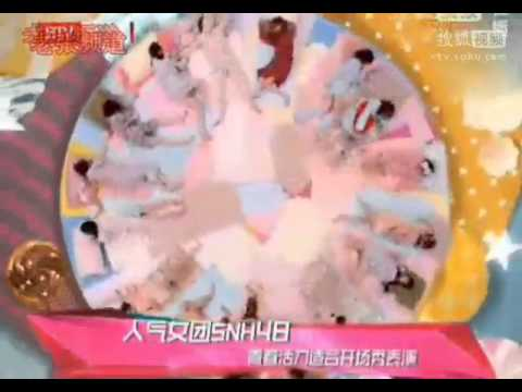 SNH48 - Top Chinese Music nominees on BTV 11.30.2013
