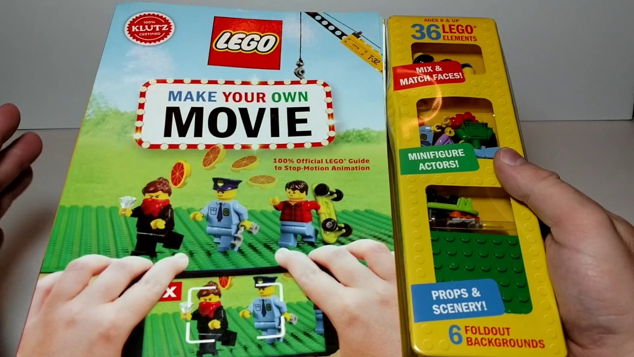 Klutz Lego Make Your Own Movie Book