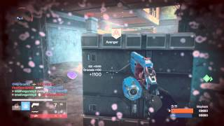 Destiny Mayhem 24 Kills - Streak of 9 (2nd game)