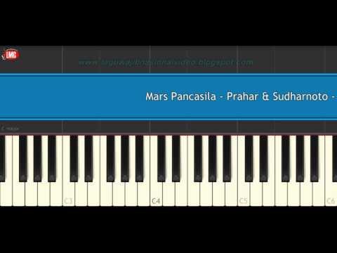 Mars Pancasila - Prahar & Sudharnoto - Tutorial Piano