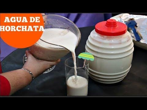 AGUA DE HORCHATA TIPO LA MICHOACANA/COCINA TRADICIONALMEXICANA