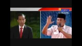 [FULL] Jokowi Kalah Telak Debat Tanya-Jawab vs Prabowo