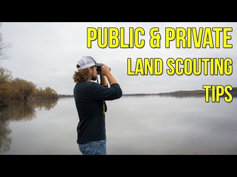 Tips For Scouting Public & Private Land