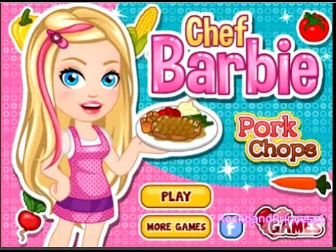 Barbie fashion and cooking games 8