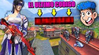 EL ULTIMO CODIGO DE FREE FIRE * nueva skin : FLAMA VIOLETA * | TheDonato