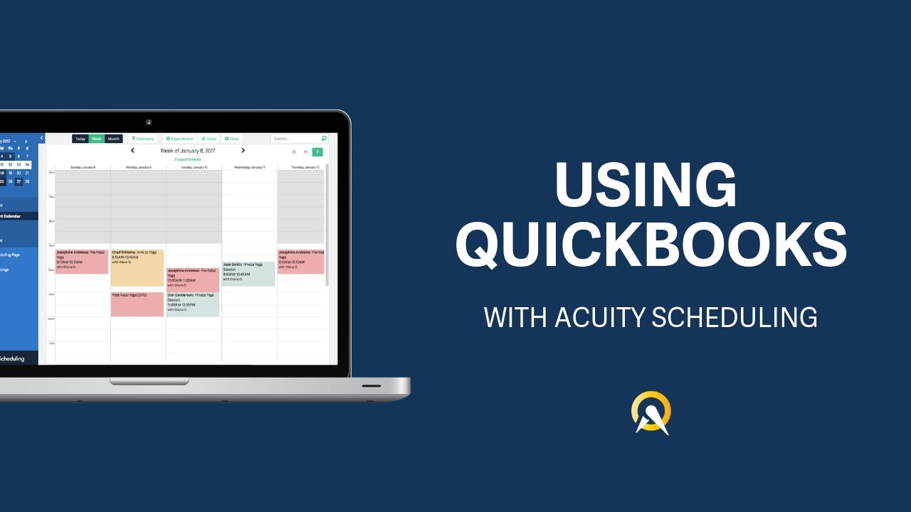 Acuity Scheduling | QuickBooks App Store