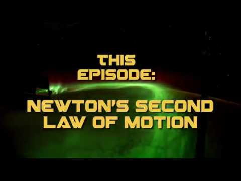 Watch Newton's 2nd Law of Motion Demonstrated in Space