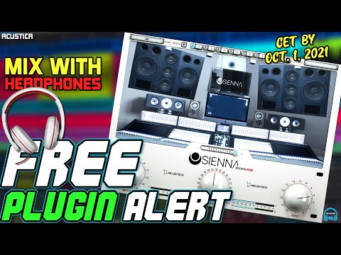 FREE PLUGIN ALERT - SIENNA ROOMS FREE Virtual Mix Room for Headphones (LIMITED TIME!)
