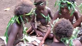 Vanuatu, Gaua Island Culture Village Children
