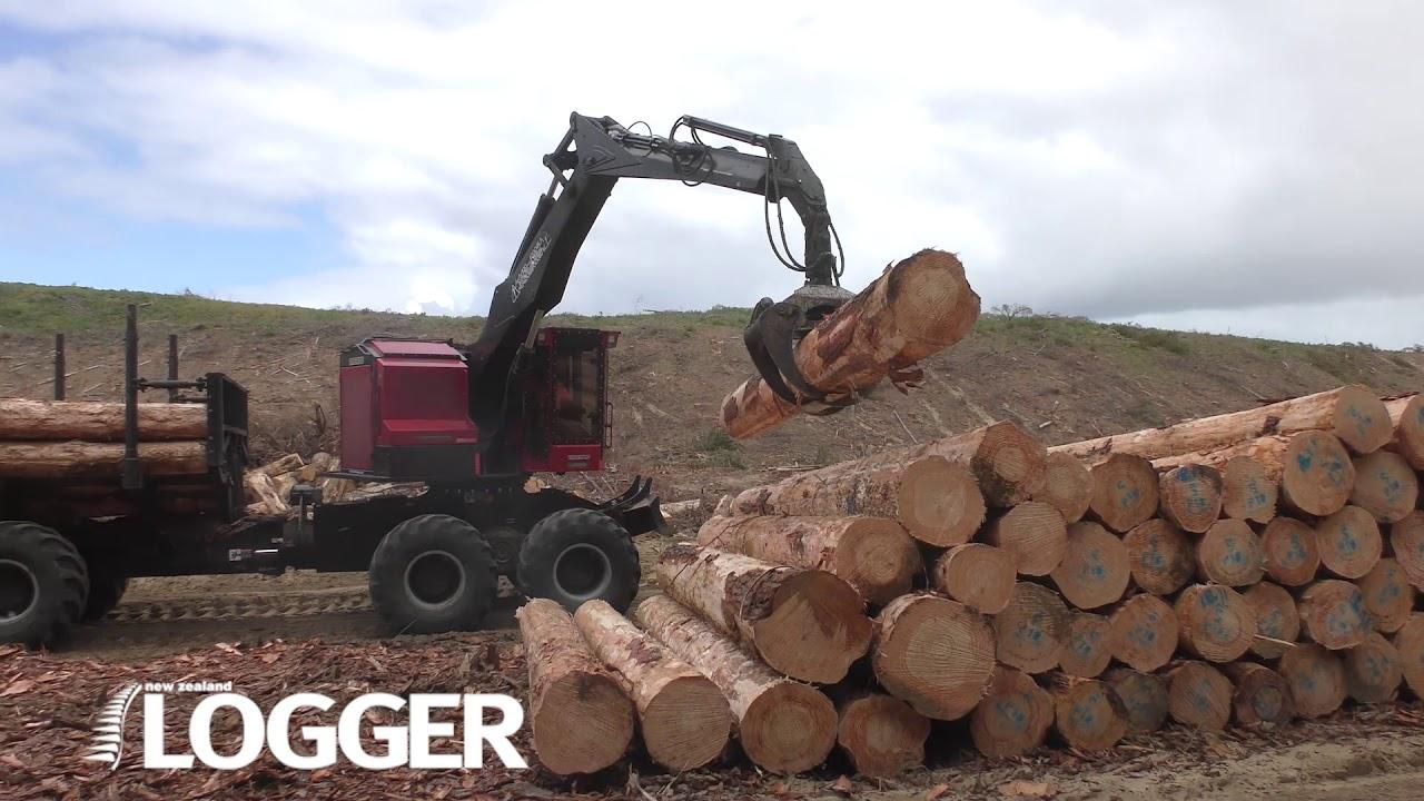 NZ Logger Shaws Iron Test February 2021