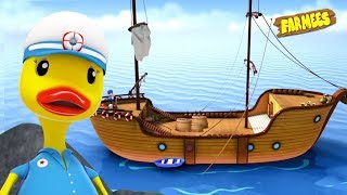 I Saw A Ship Sailing | Children Songs & Nursery Rhymes | Cartoons by Farmees