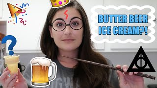 DIY BUTTERBEER ICE CREAM! || THEIceCreamQueen