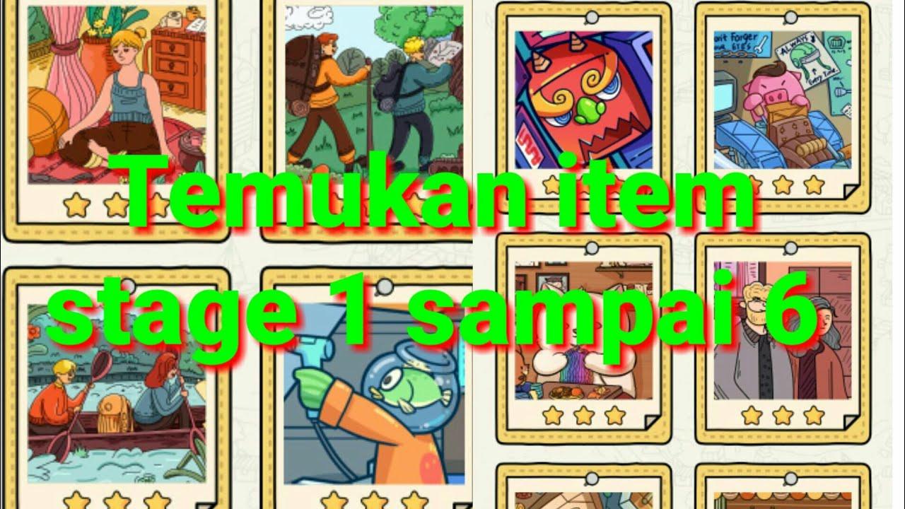 Kunci Jawaban Find Out Detektif Temukan Item Stage 1 2 3 4 5 6