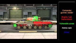 World of Tanks   Object 430 Hit Zones - Tier 10 Soviet Medium Tank(, 2013-12-28T20:16:36.000Z)