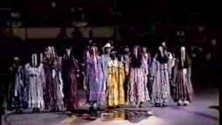 "Chickasaw Indian ""Drink Water"" dance"