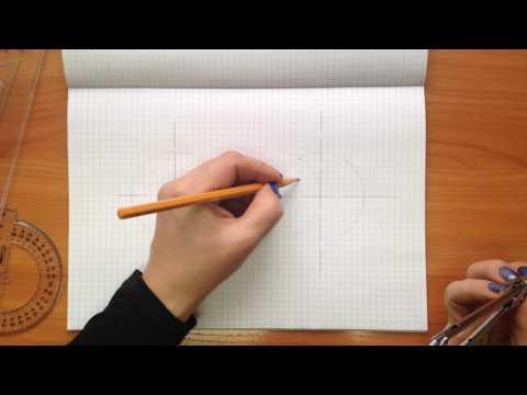 Вопрос: Как разделить круг на 6 равных частей?