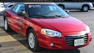 2004 Chrysler Sebring LXi Used Cars - Alexandria,Minnesota - 2014-05-23