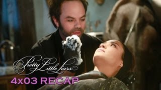"Pretty Little Liars 4x03 Recap Creepy Mask Maker - Season 4 Episode 3 ""Cat's Cradle"""