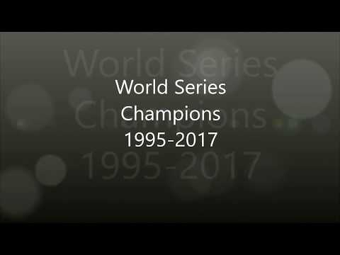 World Series Winners 1995-2017