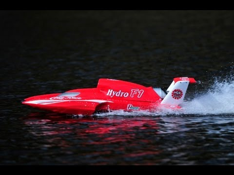 RC Hydro F1 Boat 26cc 2 stroke petrol 2.4ghz Coke Racing HD