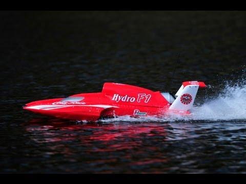 RC Hydro F1 Boat 26cc 2 stroke petrol 2 4ghz Coke Racing HD