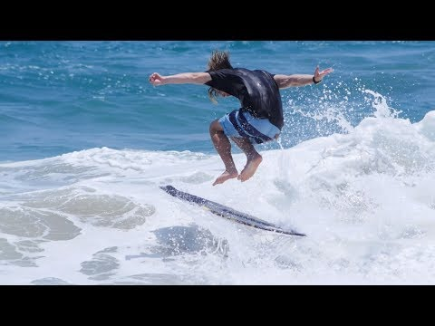 The Domke Daily 106: Run-On Skimboarding Side Wave Connection Combo | Mexico