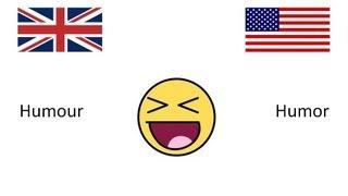 BRITISH ENGLISH VS AMERICAN ENGLISH VOCABULARY PART 2 (HD)
