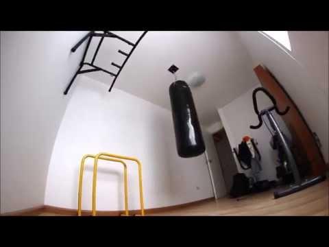 Instalacion De Saco De Boxeo De 120 Metros Fight Outlet