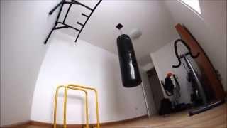 Instalación de Saco de Boxeo de 1.20 metros - Fight Outlet Peru