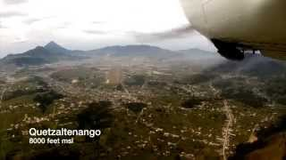 High Altitude landing: From Guatemala to Quetzaltenango in my Mooney