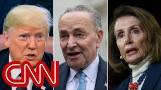 Trump storms out of meeting with Pelosi and Schumer