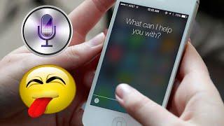 Приколы с русскоязычной Сири Siri Apple Fun with Siri in Russian