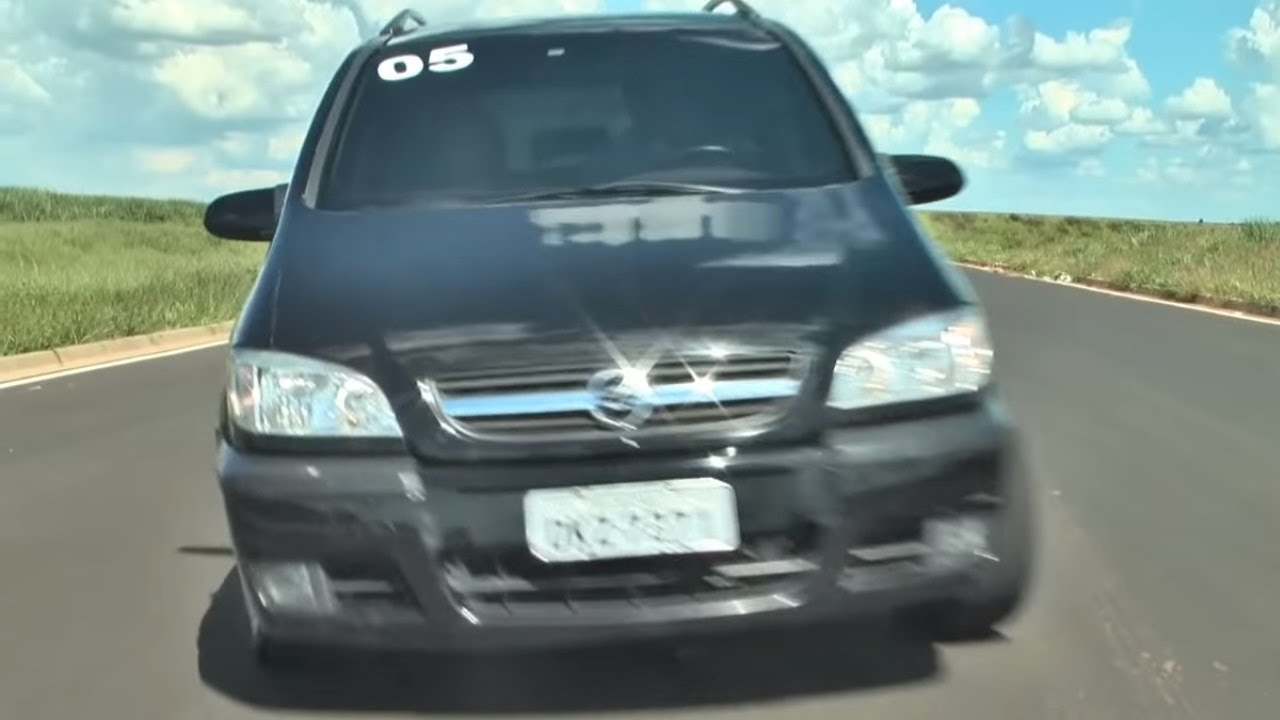 Zafira 2005 Elite Flex De 7 Lugares Test Drive Youtube