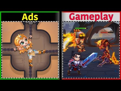 Hero Wars | Is It Like The Ads? | Gameplay
