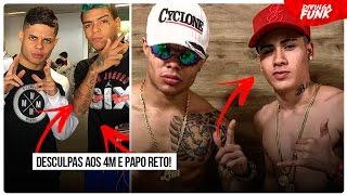 🔶 MC LAN MANDA PAPO RETO E PEDE DESCULPAS POR FALAR MAL DOS 4M E AO VIVO