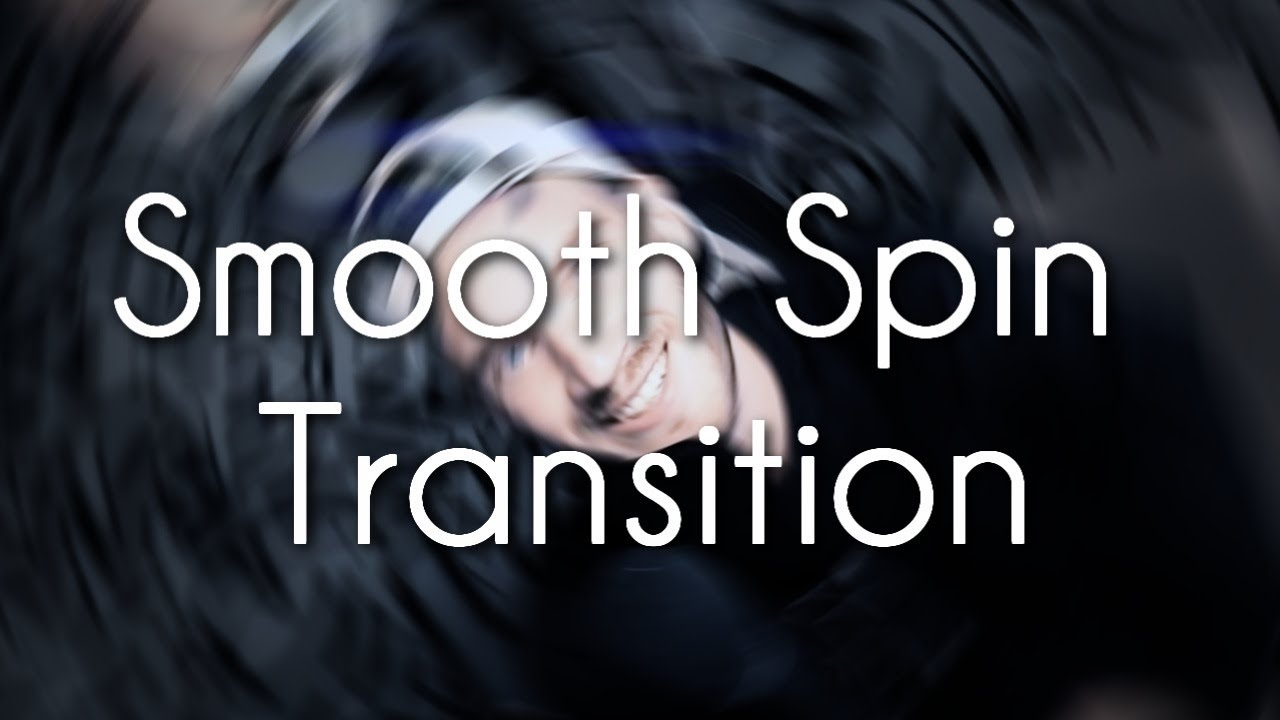 Smooth Spin Transition Tutorial {After Effects}