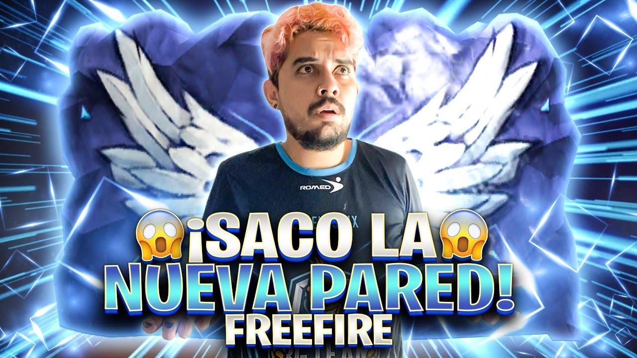 ¡SACANDO LA PARED ANGELICAL Y JUGANDO CON ELLA EN FREE FIRE!