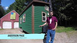 8x20' Tiny House Walk-through Tour + Water System Details