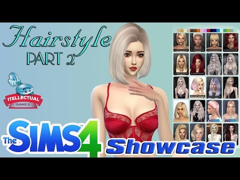 The Sims 4 Show Case Hair Style Part 2