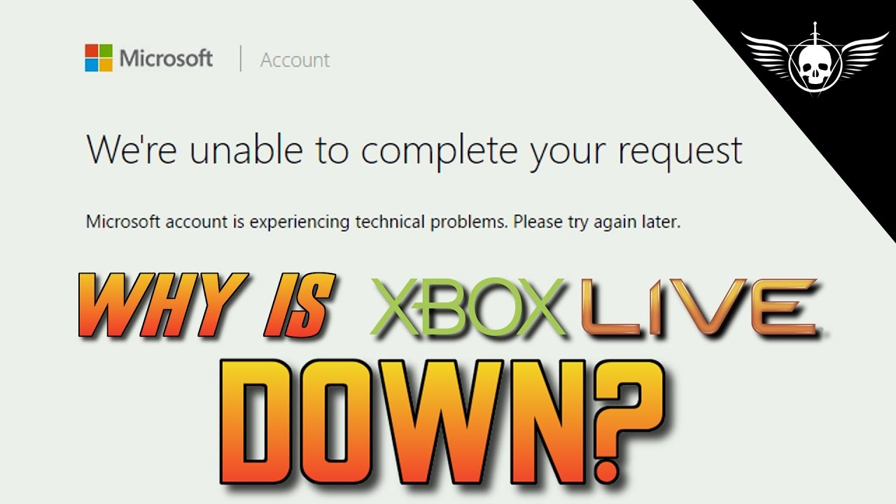 Why is Xbox Live Down? Global Outage of Microsoft Services!