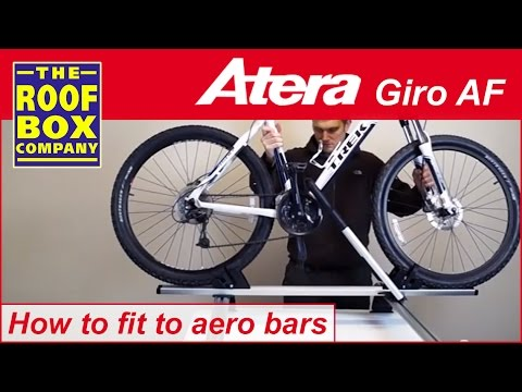 atera giro af roof mounted bike carrier how to fit to. Black Bedroom Furniture Sets. Home Design Ideas