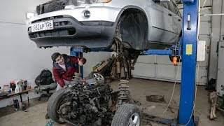 Строим BMW X5 с мотором ВАЗ 16V на 400 сил! (2я серия)