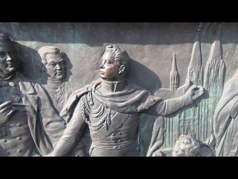Statue of Frederick William III of Prussia Koeln GH010399 Maywaylife GoPro Hero 6