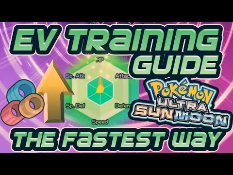 Fastest Ev Training Guide Best Locations In Pokemon Ultra Sun And Moon Usum Bradrenaline