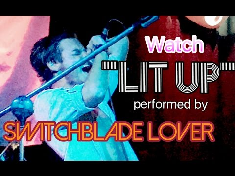 "Switchblade Lover - Buckcherry Cover - ""Lit Up"" Live - Rock"