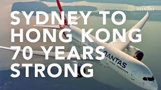 70 years of Qantas connecting Hong Kong and Australia