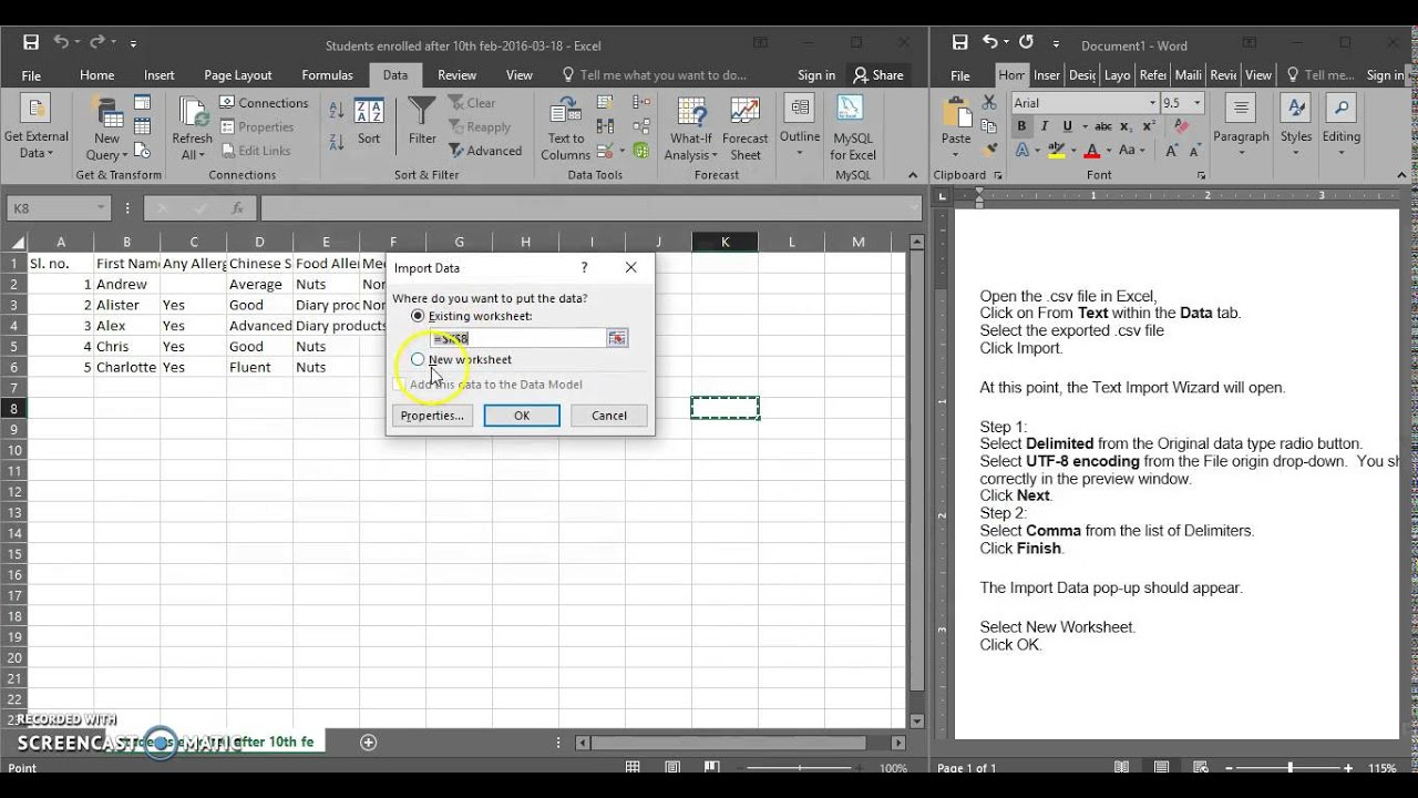 Viewing Chinese Characters In Excel Youtube