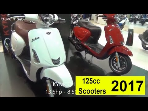 The most Popular 125cc Scooters for 2017